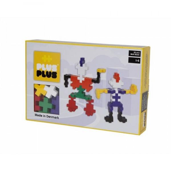 "Plus Plus konstruktorius ""Robotai"" Midi Basic 50"