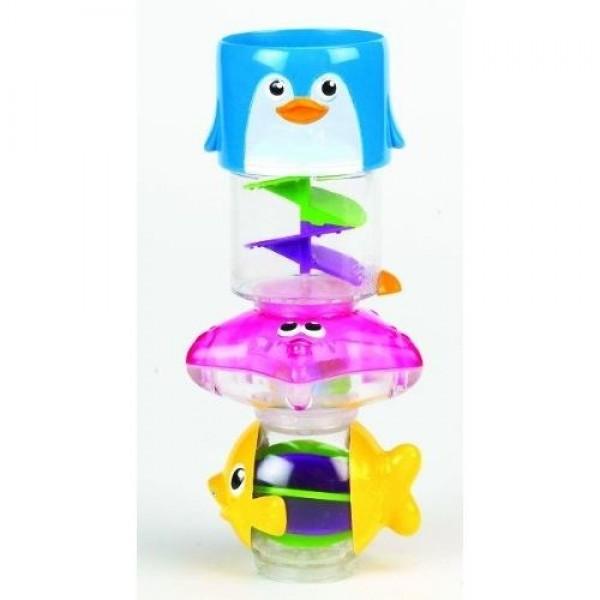Munchkin maudynių žaislas Gyvūnų bokštas
