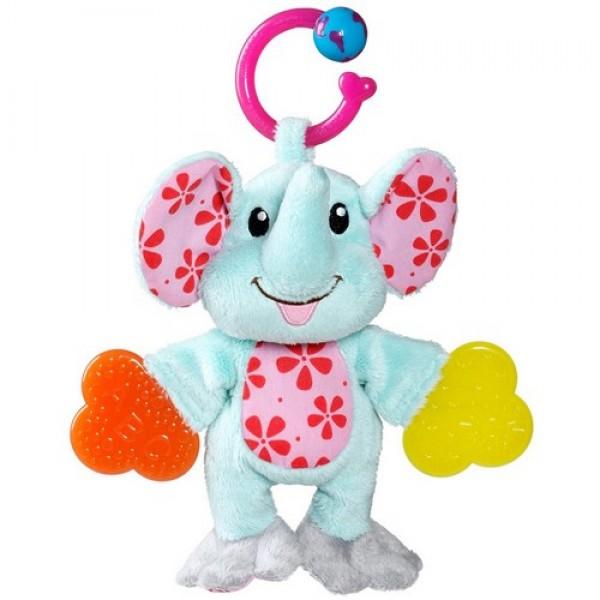 MUNCHKIN žaisliukas-kramtukas, barškutis TEETHER BABIES, Drambliukas