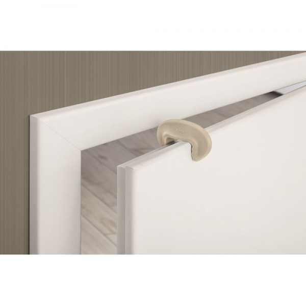 REER DesignLine durų stabdis 2 vnt, taupe spalvos