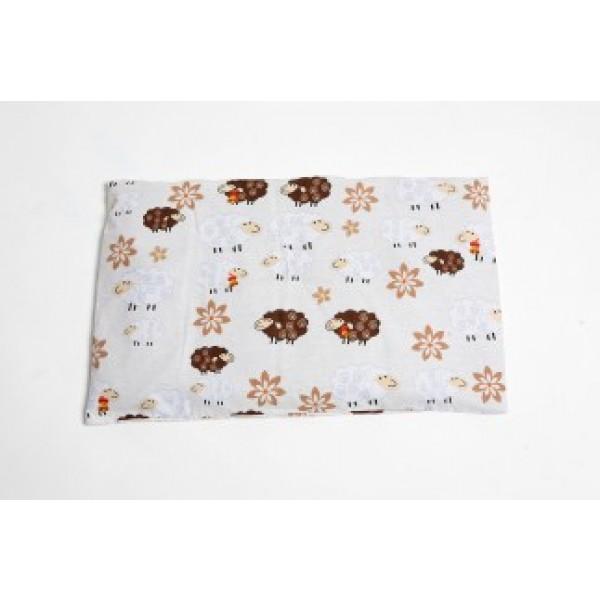 Grikių lukštų pagalvė (plona) 60x40
