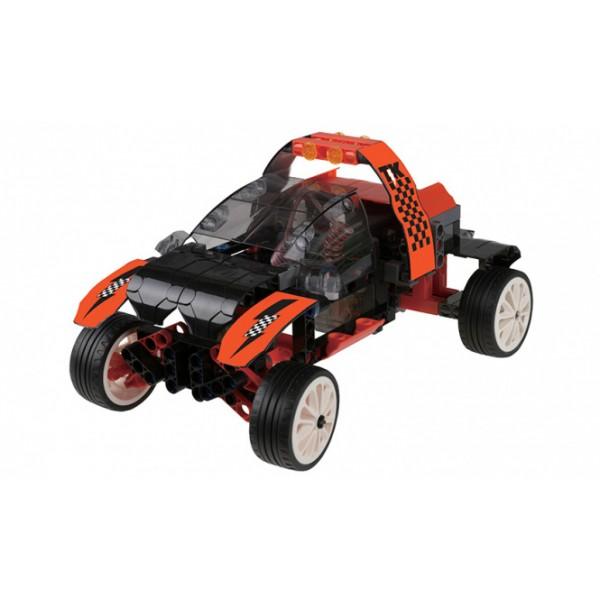 """Thames & Kosmos edukacinė priemonė - robotikos konstruktorius """"Nuotoliniu būdu valdomi mechanizmai. Automobiliai"""" (620376)"""