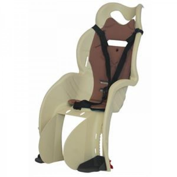Dviračio vaikiška kėdutė Sanbas, ant bagažinės
