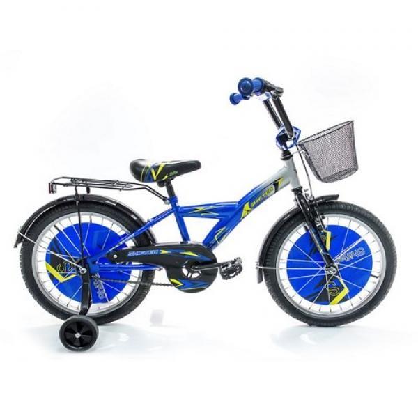 Vaikiškas dviratis 4-8 metų berniukui Shifter