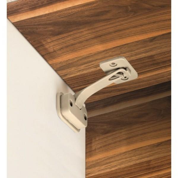 REER DesignLine REER durų ir stalčių užraktas, 2 vnt, taupe spalvos