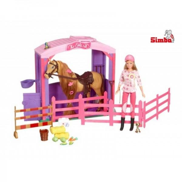 SIMBA lėlytė Steffi Love su arkliuku ir aksesuarais nuotrauka nr.3