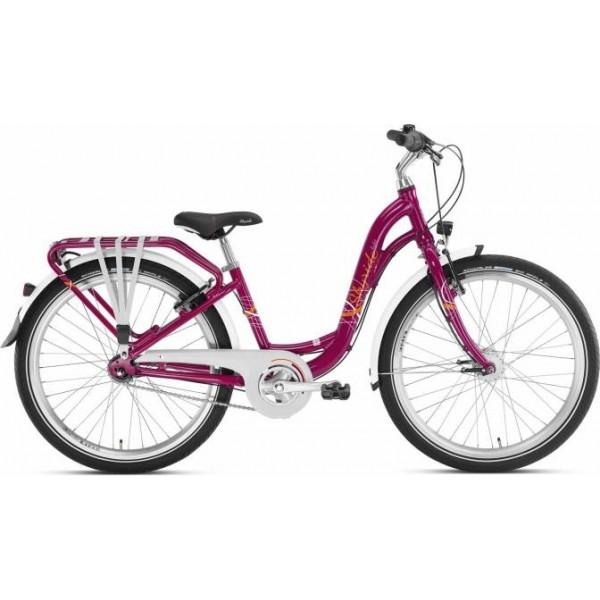 """Vaikiškas dviratis 24"""" Puky Skyride 24-7 City"""