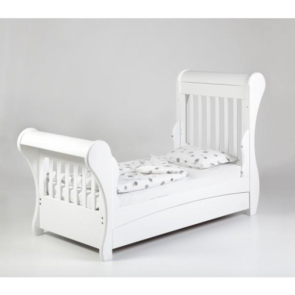 TROLL transformuojama lovytė Romantica su stalčiumi, baltos spalvos