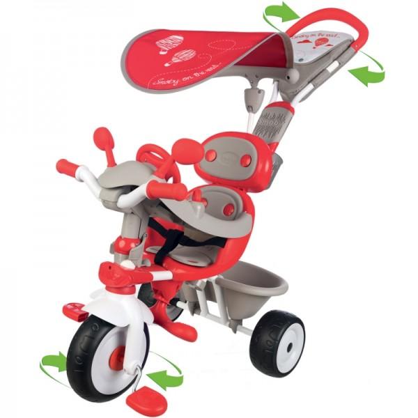 Smoby Baby driver vairuojamas triratukas  nuotrauka nr.3
