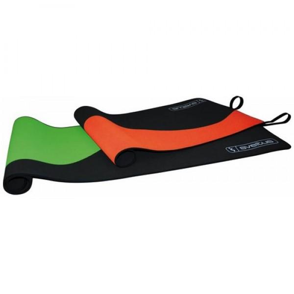 Sveltus Wave Mat gimnastikos kilimėlis, juodas/oranž.