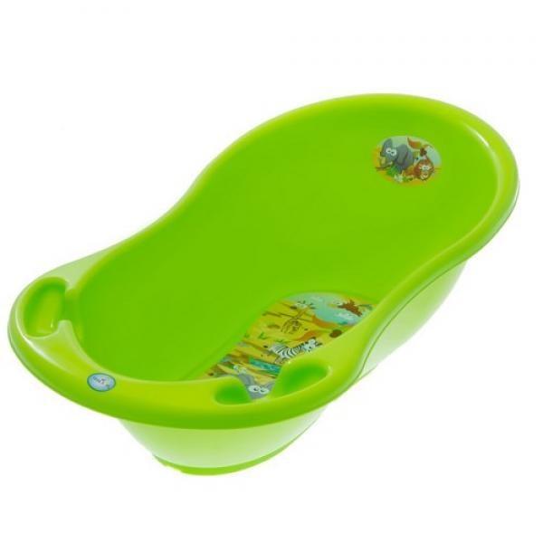 TEGA kūdikio vonelė Safari 86cm su vandens termometru