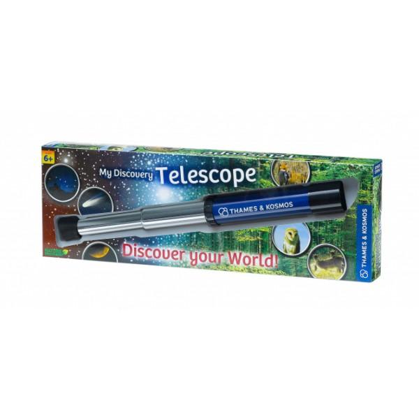 """Thames & Kosmos edukacinė priemonė """"Mano atradimų teleskopas"""" (676919)"""