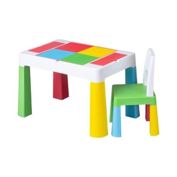 Tega Multifun stalas ir kėdutė multicolor