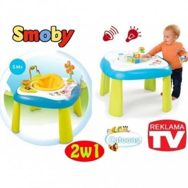 Smoby Cotoons interaktyvus staliukas - sėdynė