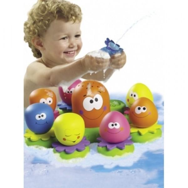 TOMY T2756 vonios žaislas - aštuonkojis