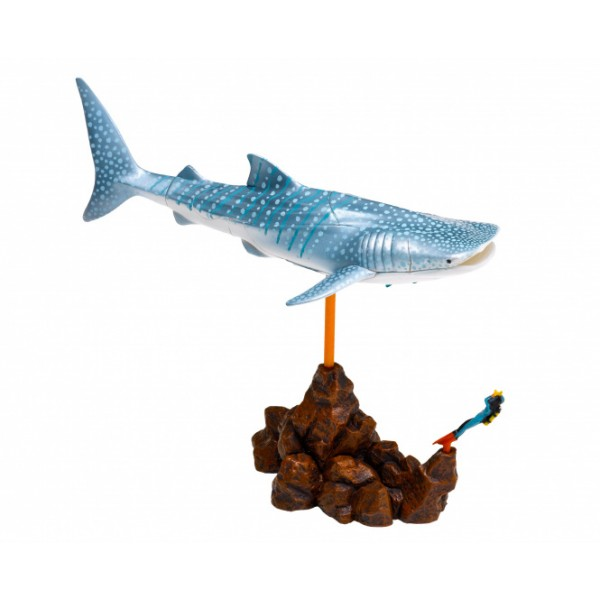 """Thames & Kosmos edukacinė priemonė - erdvinė 3D dėlionė / diorama """"Bangininis ryklys"""" (268180)"""