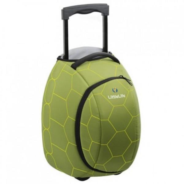 LittleLife vaikiškas lagaminas su ratukais Animal Wheelie Duffle Vėžlys