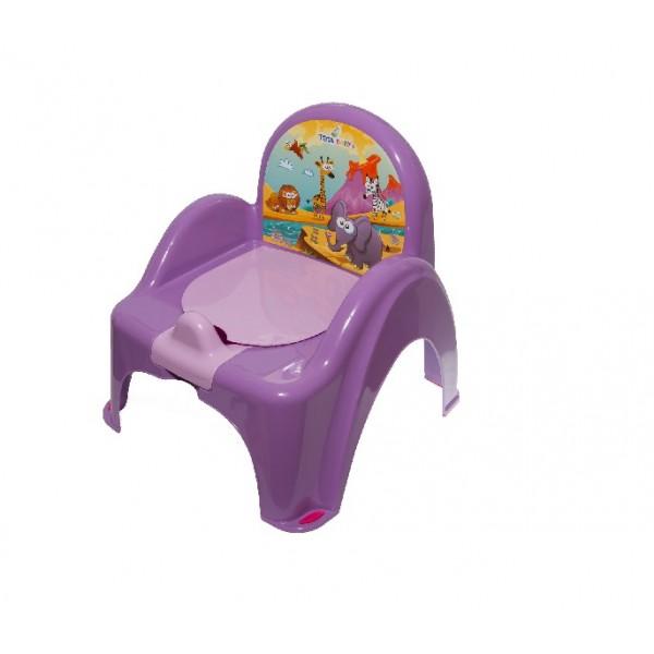 Tega vaikiškas naktipuodis su kėdute Safari