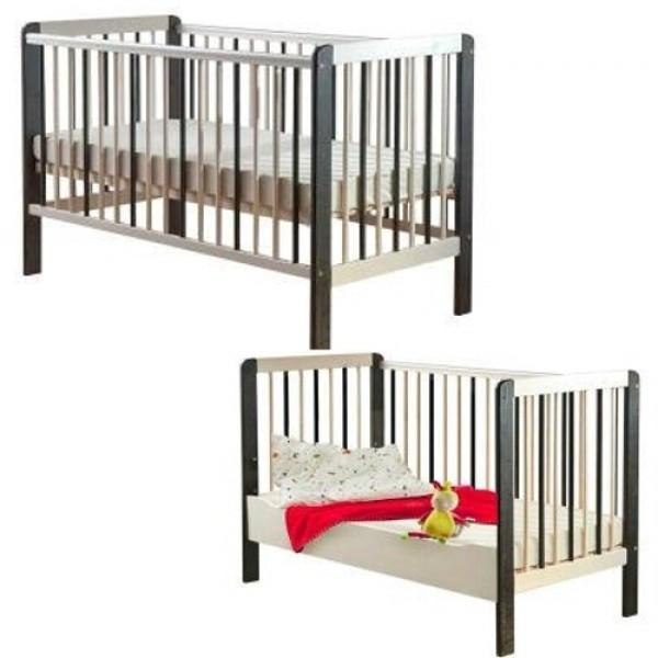 Kūdikio lovytė - paaugusio vaiko lova Drewex Zebriukas