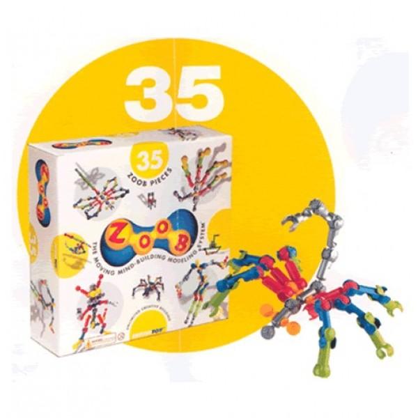 ZOOB konstruktorius - 35 dalių