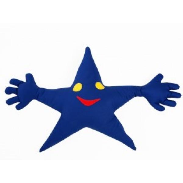 Grikių lukštų pagalvė-žvaigždutė