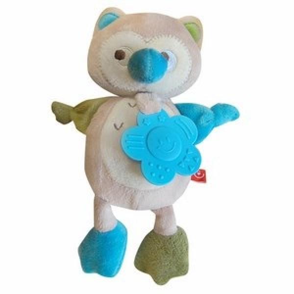 Pliušinis žaisliukas su kramtuku Pelėda