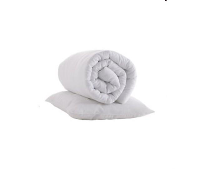 Pagalvė ir antklodė, balta