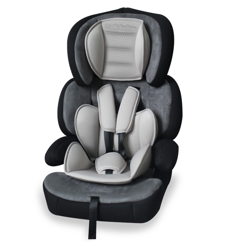 Automobilinė kėdutė Junior Premium 9-36kg.natūralios medvilnės užvalkalais