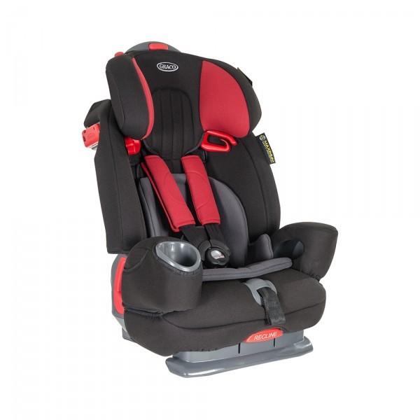 GRACO automobilinė kėdutė NAUTILUS Elite Aluminium