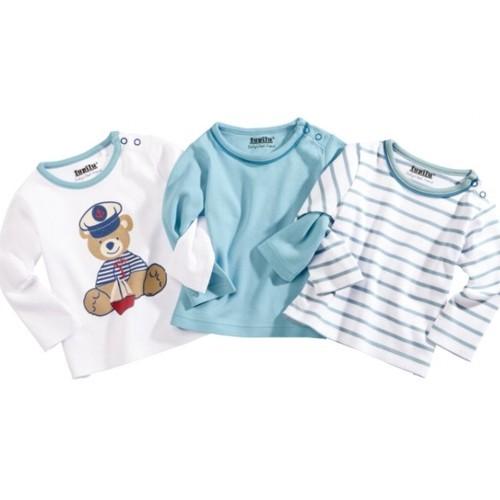 Medvilininiai marškinėliai ilgomis rankovėmis Gera kaina