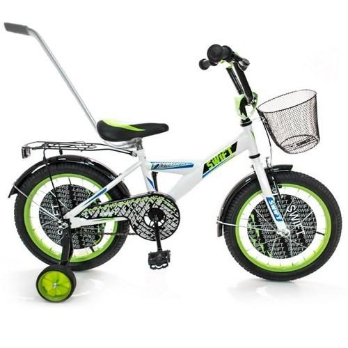 Vaikiškas dviratis Swift 4-8 metų berniukui