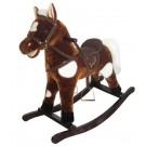 ALEXIS XR 023 supamas arkliukas su garsu, rudas nuotrauka nr.2