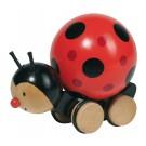 GOKI traukiamas medinis žaislas Boružė, sukanti rutulį