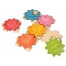 """PlanToys lavinamoji priemonė - žaislas """"Krumpliaračiai ir dėlionė - standartinis"""" (PT5634)"""