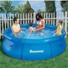 Bestway pripučiamas baseinas be siurblio Žaibas Makvynas 244x66cm