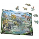 Larsen dėlionė (puzzle) Dinozaurai 3 Maxi