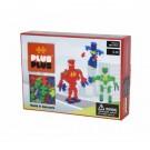 """Plus Plus konstruktorius """"Robotai"""" Mini Neon 170"""