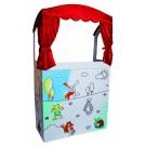 Beleduc lavinamoji priemonė  - lėlių teatras (kartoninis) (63200)