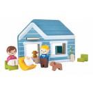 """PlanToys lavinimo priemonė - """"Namai"""" (PT6617)"""