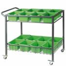Beleduc priemonė - darželio įranga - Metalinis vežimėlis (68100)