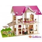 EICHHORN Dollhouse medinis lėlių namelis