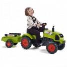 FALK CLAAS ARION vaikiškas traktorius su priekaba