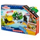 Little Tikes Slammin'RacerS arena lenktynėms + žaislinis automobilis