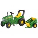 Rolly Toys vaikiškas traktorius X Trac John Deere su priekaba