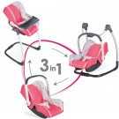 SMOBY Maxi Cosi 3-in-1 žaislinė maitinimo kėdė