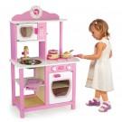VIGA Toys medinė vaikiška virtuvėlė Mažoji Princesė