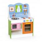 VIGA TOYS medinė vaikiška virtuvėlė su aksesuarais Angelas