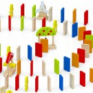 Viga Toys Žaidimas Domino efektas Ferma 116el