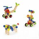 Viga Toys medinės kaladėlės 68 det.