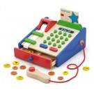 Viga Toys medinis kasos aparatas su priedais